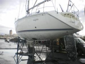 hydrogommage bateau, sablage bateau, aérogommage bateau